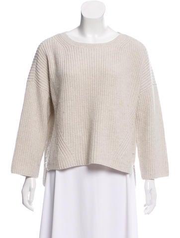 Crippen Rib Knit Sweater None