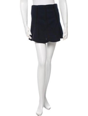 Veronica Beard Mini Flared Skirt None