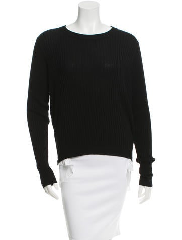 Veronica Beard Rib Knit Layered Sweater None