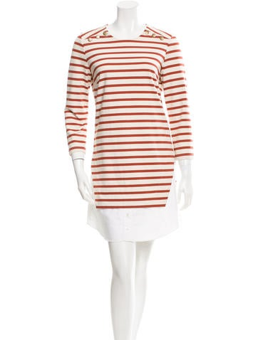 Veronica Beard Striped Shift Dress