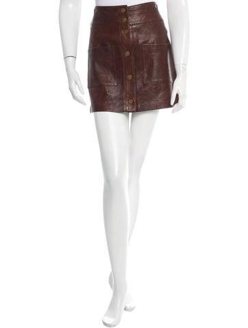 Veronica Beard Patrol Cargo Mini Skirt None