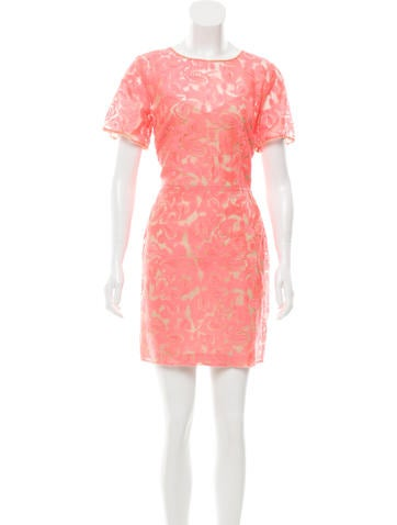 Veronica Beard Embroidered Knee-Length Dress w/ Tags None