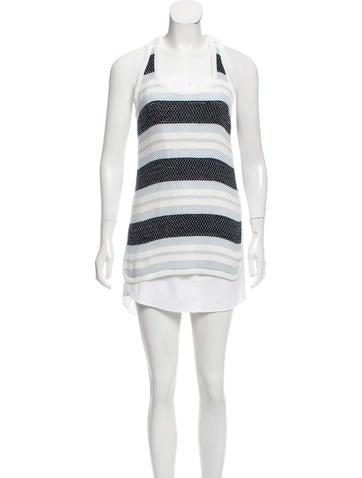 Veronica Beard Knit Mini Dress None