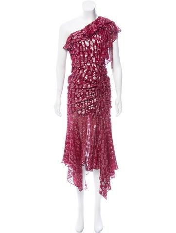 Veronica Beard Leighton Silk-Blend Dress w/ Tags None