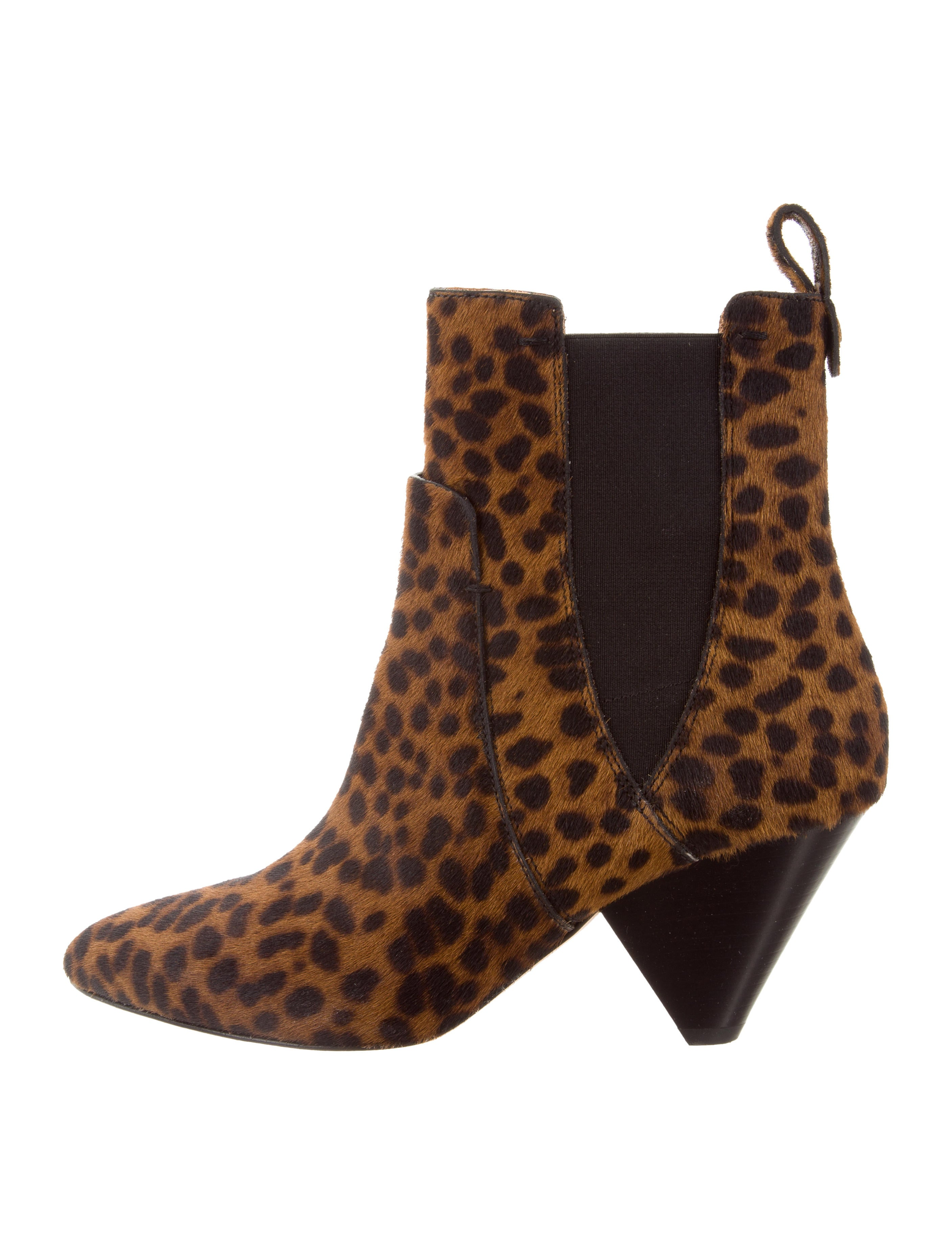 Veronica Beard Ponhair Ankle Boots clearance 2015 new view fashionable cheap online Gpl6LqM