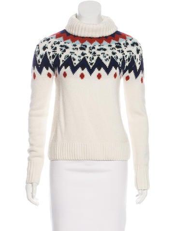 Veronica Beard Wool-Blend Turtleneck Sweater None