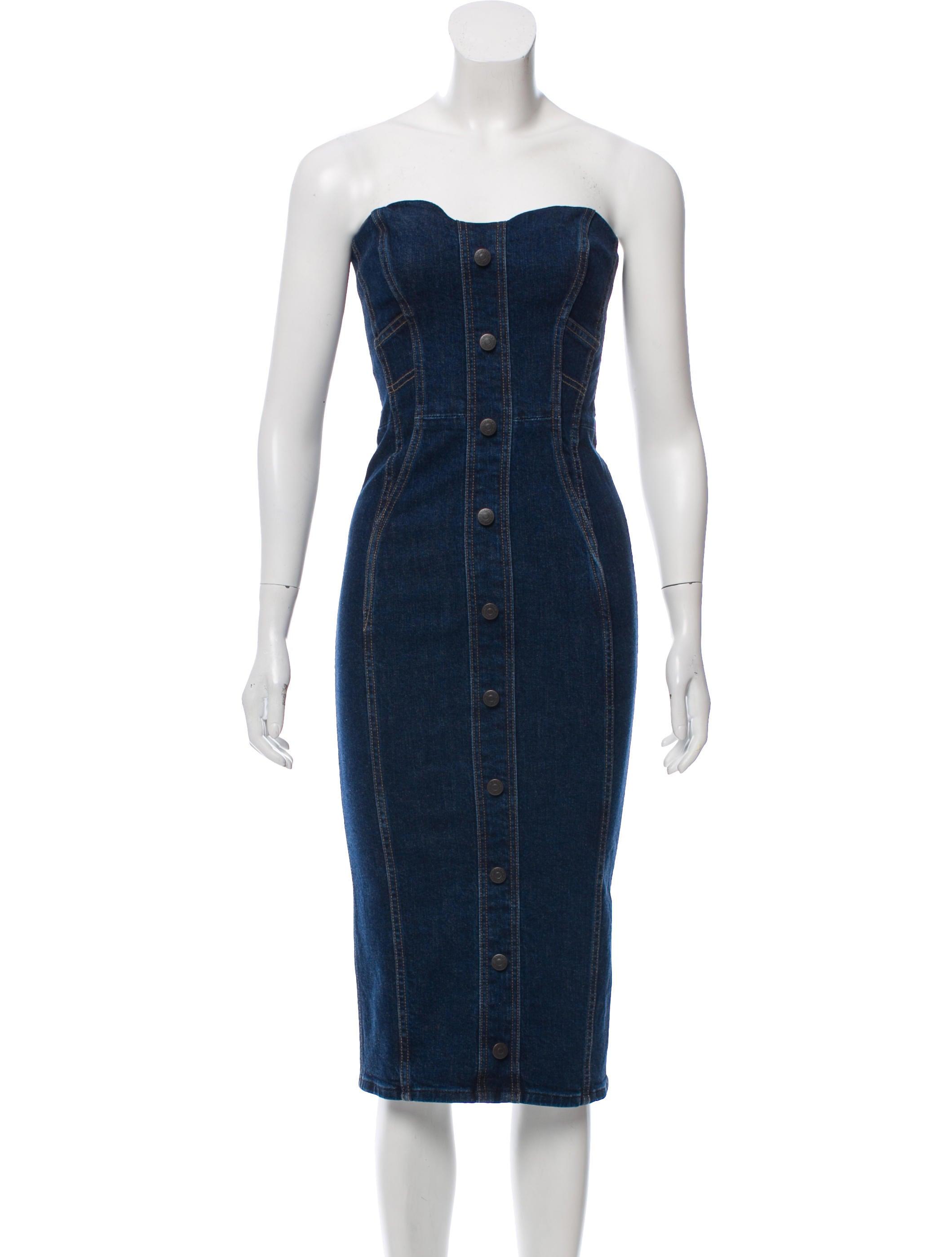 d55b803af5 Veronica Beard 2018 Liza Denim Dress - Clothing - WV130136