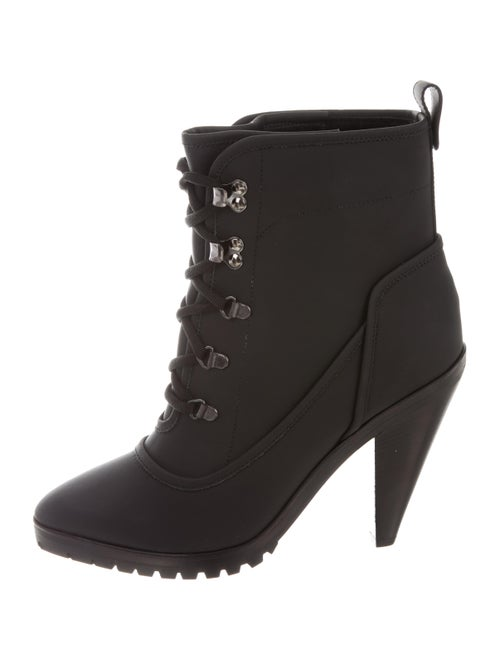 Veronica Beard Charley Platform Boots Black