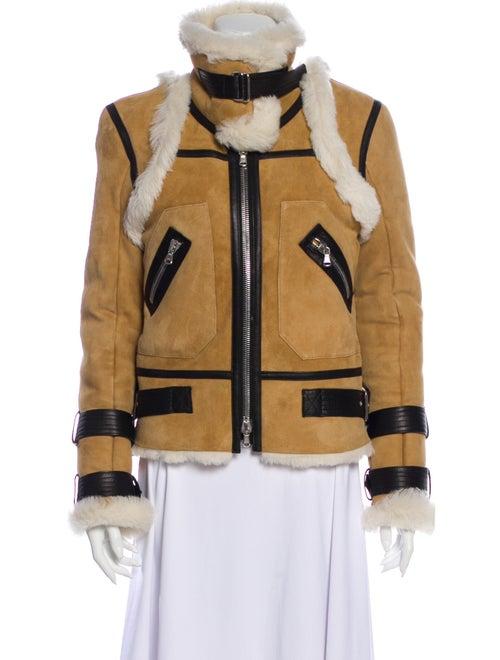 Veronica Beard Shearling Printed Jacket