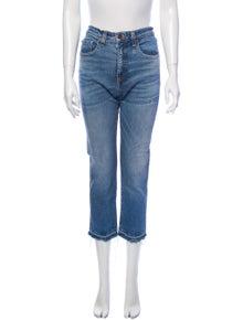 Veronica Beard High-Rise Skinny Leg Jeans