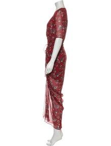 Veronica Beard Silk Long Dress