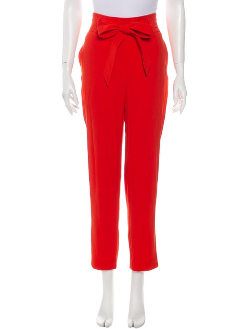 Veronica Beard Straight Leg Pants w/ Tags Orange