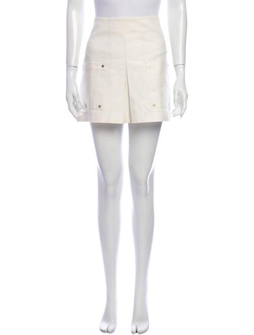 Veronica Beard Mini Skirt White