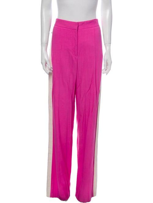 Veronica Beard Wide Leg Pants Pink