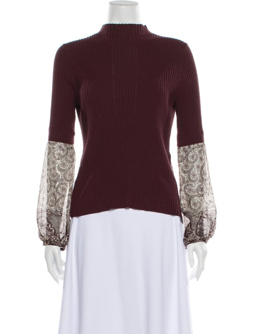 Veronica Beard Mock Neck Sweater