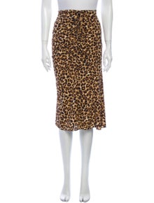 Veronica Beard Silk Knee-Length Skirt w/ Tags
