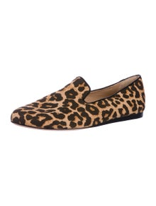 Veronica Beard Griffin Animal Print Loafers