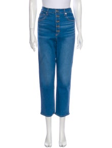 Veronica Beard High-Rise Straight Leg Jeans w/ Tags