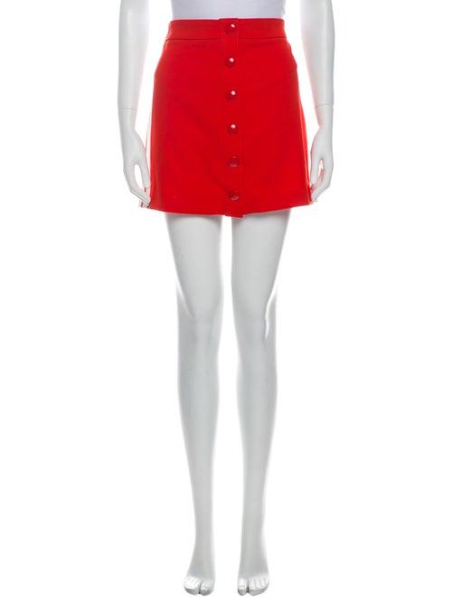 Veronica Beard Mini Skirt Orange