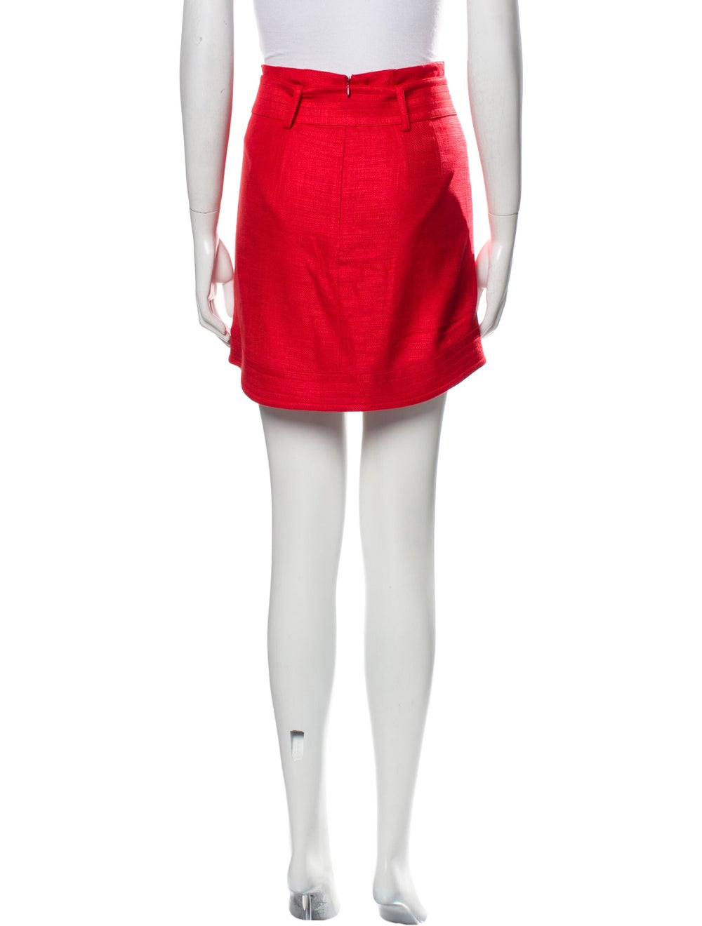Veronica Beard Mini Skirt Red - image 2