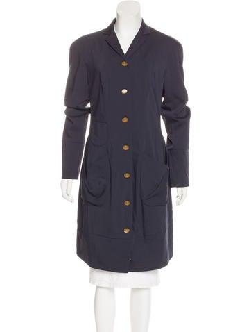 Vivienne Westwood Red Label Notch-Lapel Long Coat None