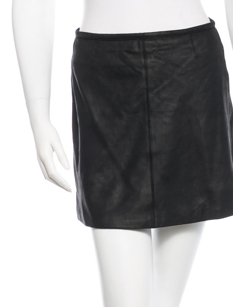 veda leather mini skirt clothing wv320245 the realreal