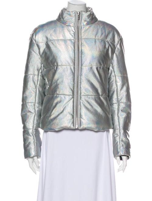 Veda Down Jacket Silver