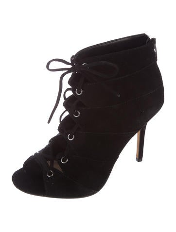 Vince Camuto Stevie Lace-Up Booties free shipping big sale with paypal low price S8vNai