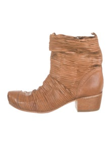 28ec0164d96 Vic Matie. Leather Ankle Boots