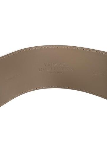Patent Leather Medusa Belt w/ Tags