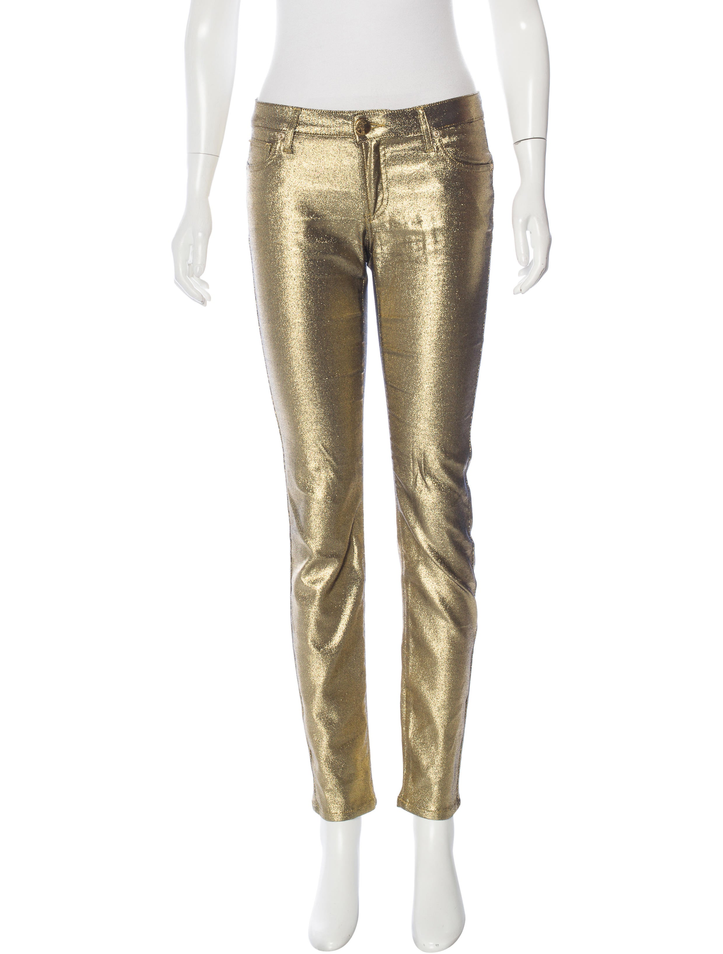 Free shipping and returns on Women's Metallic Skinny Jeans at 0549sahibi.tk