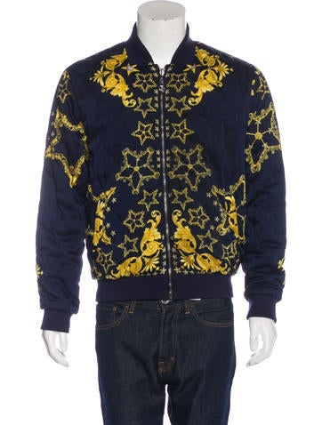 Versace Collection Reversible Bomber Jacket None