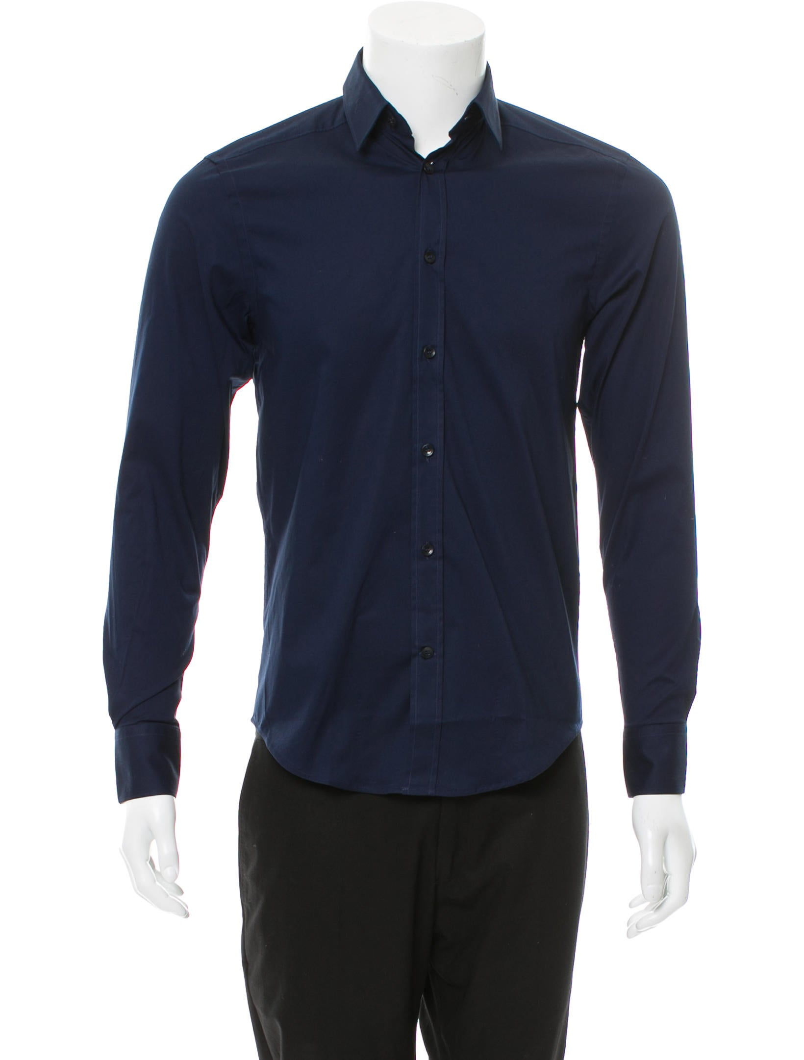 Versace collection woven button up shirt w tags Woven t shirt tags