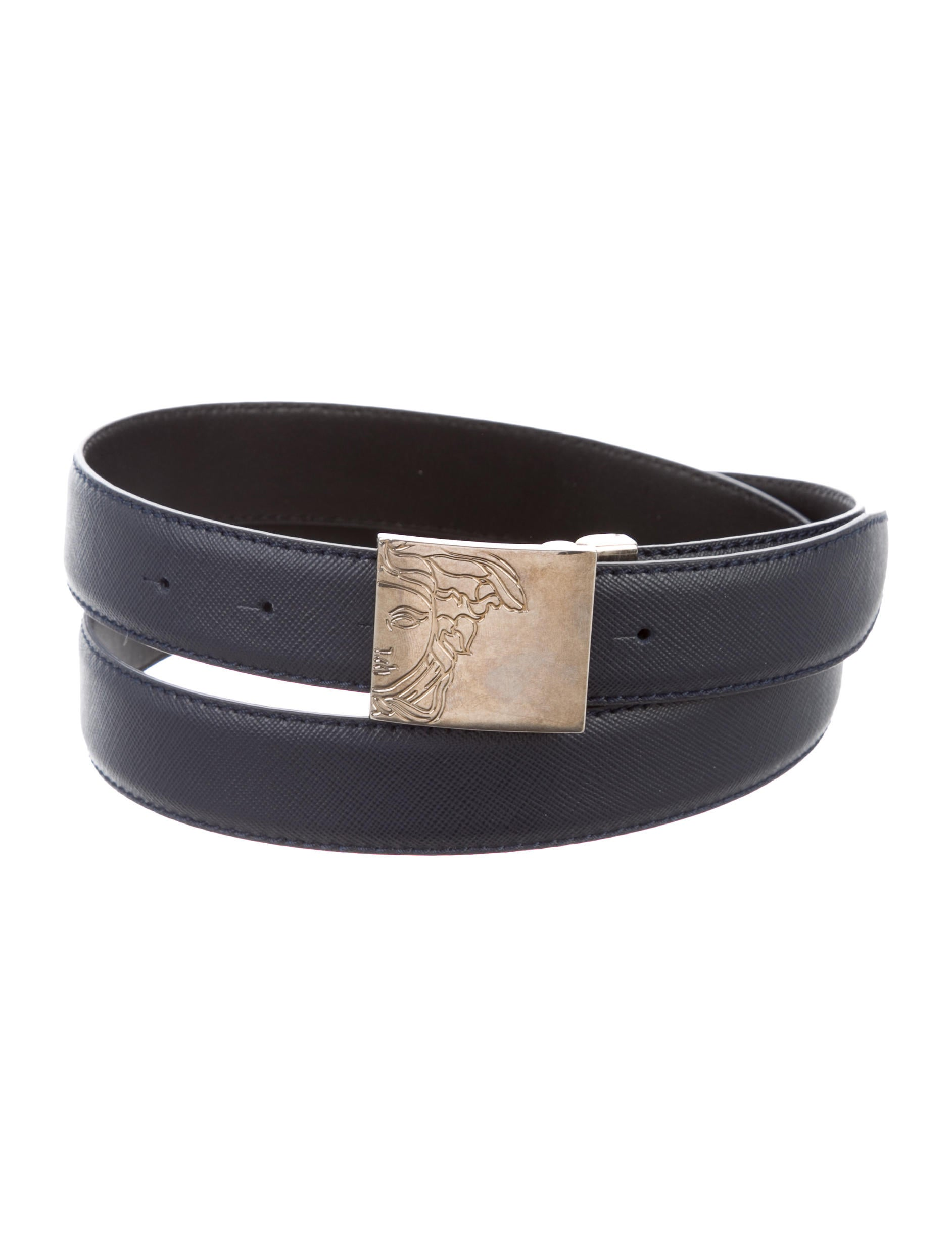 9e5510f7328f Versace Collection Leather Buckle Belt w  Tags - Accessories ...