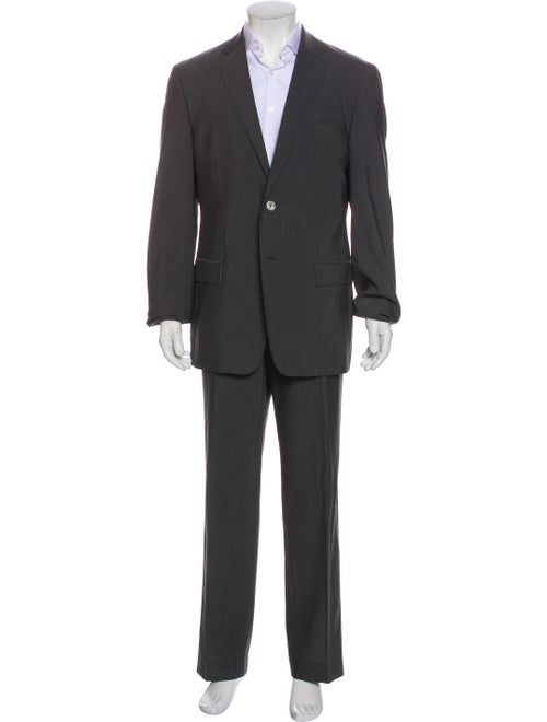 Versace Collection Wool Two-Piece Suit Wool