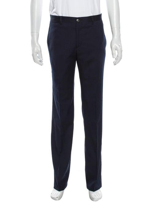 Versace Collection Dress Pants Blue