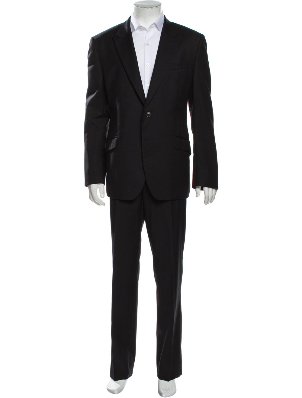 Versace Collection Virgin Wool Two-Piece Suit Wool - image 1