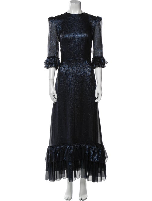 The Vampire's Wife The Cinderella Long Dress Blue
