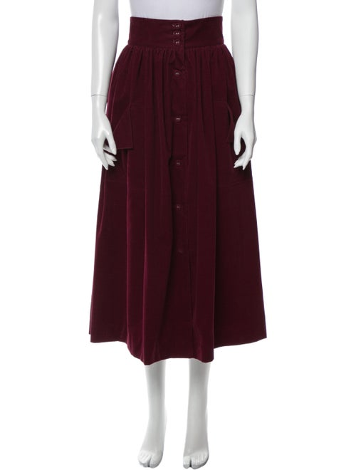 The Vampire's Wife The Visiting Midi Length Skirt