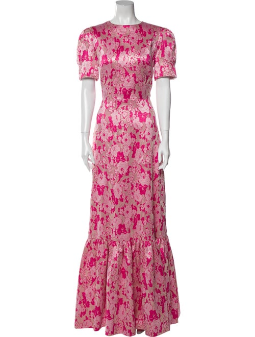 The Vampire's Wife The Juno Long Dress Pink