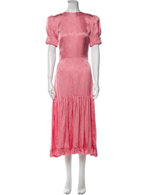 The Vampire's Wife The Hummingbird Long Dress Pink