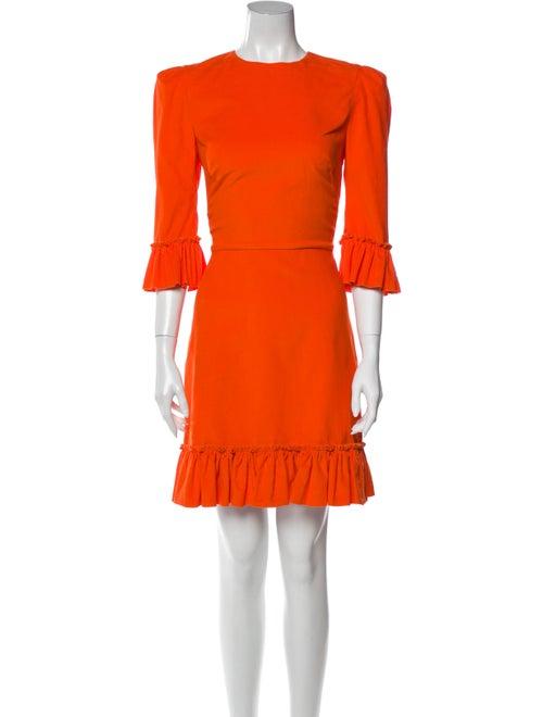 The Vampire's Wife The Festival Mini Dress Orange