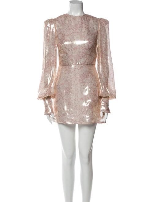 The Vampire's Wife The Falconetti Mini Dress Metal