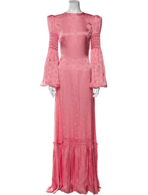 The Vampire's Wife The No. 9 Long Dress Pink