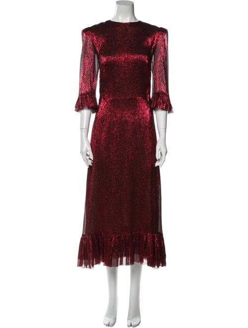 The Vampire's Wife The Falconetti Long Dress Metal