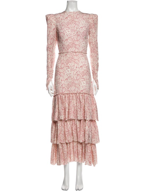 The Vampire's Wife The Bow Long Dress Pink