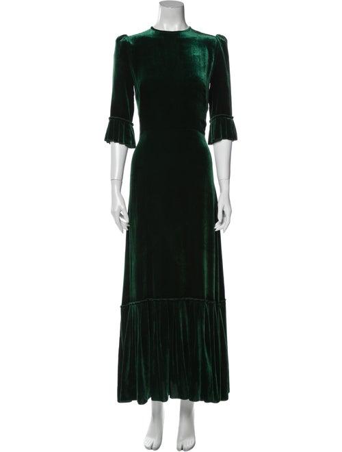 The Vampire's Wife The Festival Long Dress Green