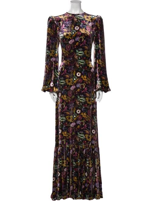 The Vampire's Wife The Belle Long Dress Purple