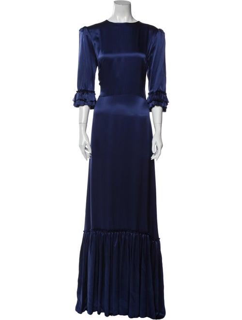 The Vampire's Wife The Festival Long Dress Blue