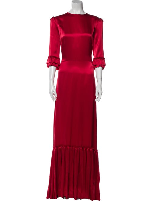 The Vampire's Wife The Festival Long Dress Red